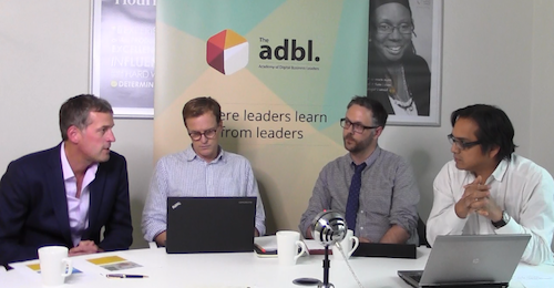 Marketing webinar with James Luscombe, Louis Warner and Phil Hullah
