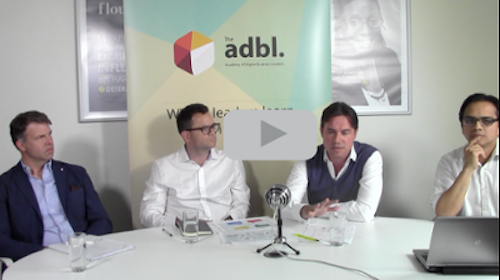 Webinar with digital leaders; Mike Curry, Ben Rowland, Tom Bryant