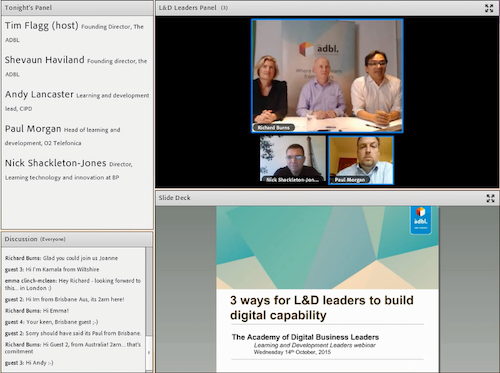 Webinar with L&D leaders
